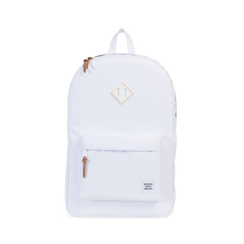 HERSCHEL Heritage BackPack Rubber/Gum White/White - Sneakerhelden