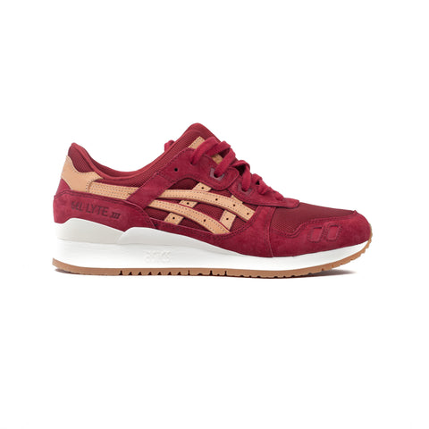 Asics Gel Lyte III Burgundy / Tan - Sneakerhelden