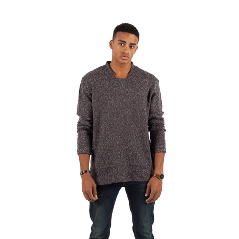 PUBLISH Pullover Sweater Barlow Charcoal/Grau