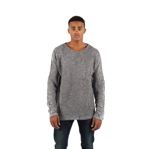 PUBLISH Pullover Arto Heather Grau