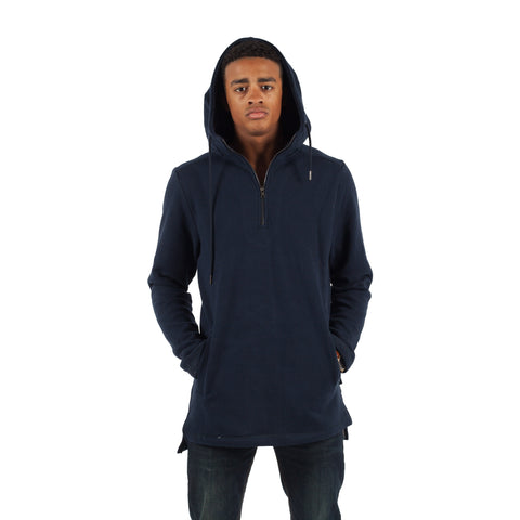PUBLISH Hoodie Half Zip Pullover Kameron Navy - Sneakerhelden