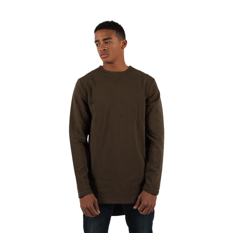 PUBLISH Long-Sleeve Glifford Olive - Sneakerhelden