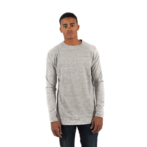PUBLISH Longsleeve L/S Drop Shoulder Knitted Tee Heather - Sneakerhelden