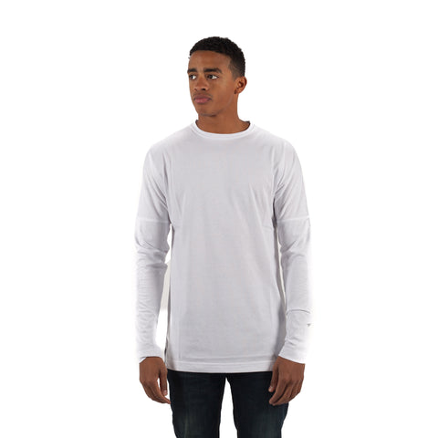 PUBLISH Longsleeve L/S Drop Shoulder Knitted Tee Weiß