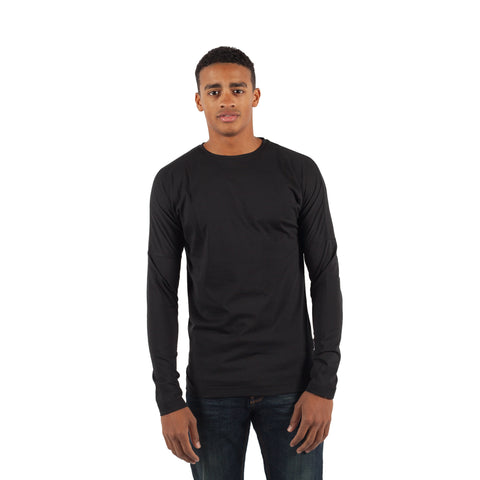 PUBLISH Longsleeve L/S Drop Shoulder Knitted Tee Schwarz - Sneakerhelden