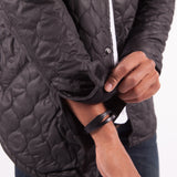 PUBLISH Quilted Bomber Jacke Barkley Black