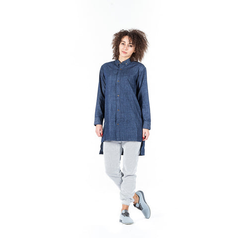 PUBLISH Jeans Bluse Dina Indigo - Sneakerhelden