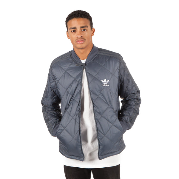 ADIDAS Originals Quilted Superstar Jacke Blau - Sneakerhelden
