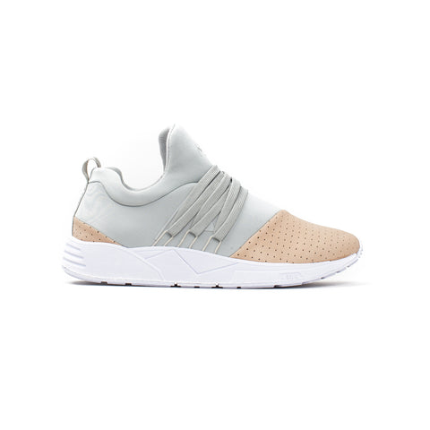 ARKK COPENHAGEN Raven Light Grey Nude Nubuck - Sneakerhelden