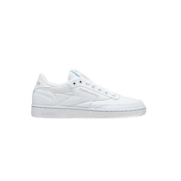 REEBOK Club C 85 TC White/Neon Blue / Weiß Blau