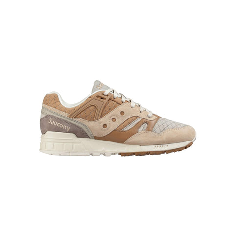 "SAUCONY GRID SD Tan ""Quilted"" Quilt Heritage - beige"