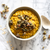 Pumpkin Seed & Oatmeal Breakfast Bowl with Turmeric & Ginger Infusion