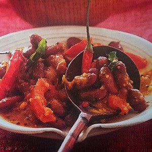 Natal Red Kidney Bean Curry - Meat Free Monday