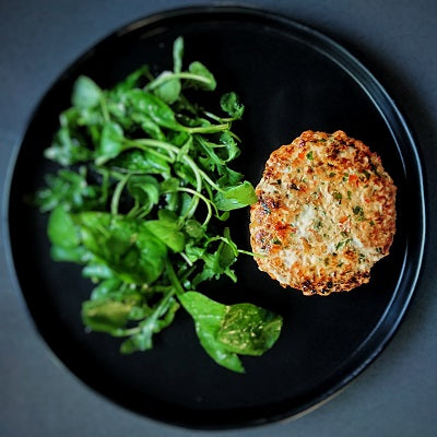 A Very Easy Spicy Salmon Burger Recipe