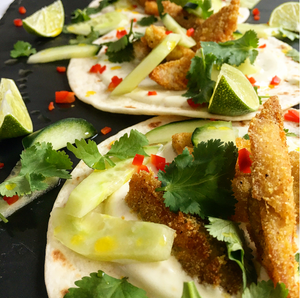 Leftover Turkey Recipe - TING Turkey Tacos