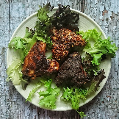 Spicy Chicken Wings | Cajun, Jerk, Piri Piri