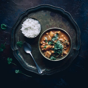 Chana Aloo - Chickpea and Potato Curry