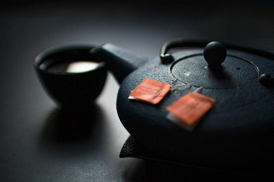 Tea pot brewing chai