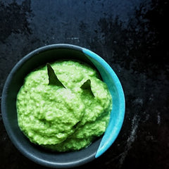 Green pea and chilli relish