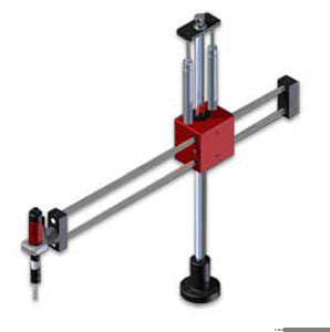 Titanmate linear tool support arm. Max torque=75ftlb, load capacity=35lbs. Min arm reach=7in , max arm reach=30in . (PNTML3-32)
