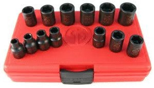 CP RediPower 3/8 inch impact wrench metric socket set (PN8940158989)