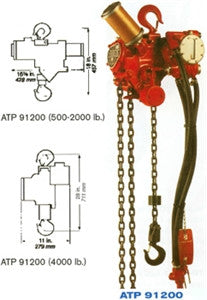 ATP 91200-4MP Air Hoist (PN ATP 91200-4MP)