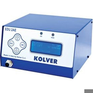 Kolver EDU2AE programmable w/ interface screen, reverse speed and torque control