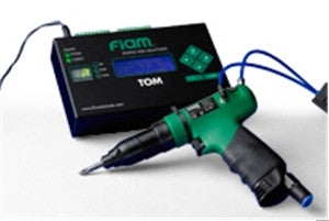 FIAM Air Shut-Off Screwdrivers/Nutrunners with Pneumatic Pick-Up Signal (ported) for Tightening Cycle Monitoring Pistol Grip Model 15C2AP-2CS