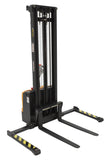 Vestil Double Mast Stacker with Powered Drive and Powered Lift PN S-125-AA-DM