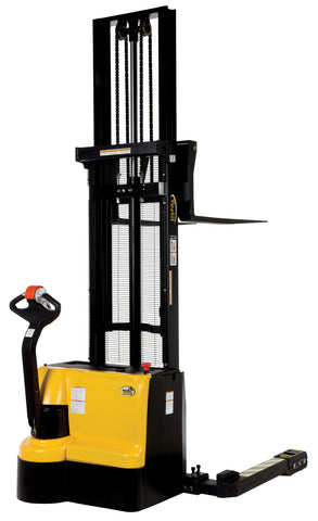 Vestil Double Mast Stacker with Powered Drive and Powered Lift PN S3-125-AA
