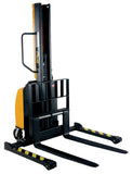 Vestil Narrow Mast Stacker with Power Lift PN SLNM-63-AA
