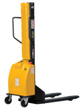 Vestil Narrow Mast Stacker with Power Lift PN SLNM-63-FF