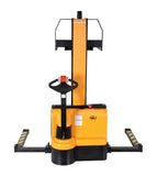 Vestil Narrow Mast Stacker with Powered Drive and Powered Lift PN SNM-62-FA