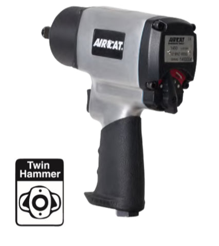 "Aircat 1/2"" Impact Wrench PN 1450"