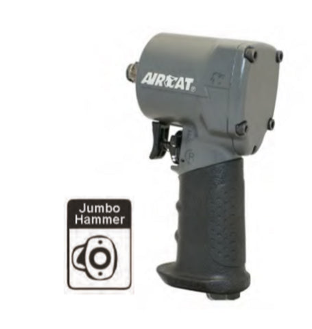 "Aircat 1/2"" Stubby Impact Wrench PN 1057-TH"