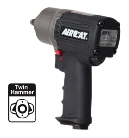 "Aircat High-Low Torque 3/8"" Impact Wrench PN 1350-XL"