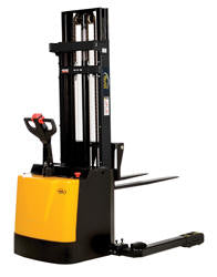 Vestil Double Mast Stacker with Powered Drive and Powered Lift PN S3-118-AA