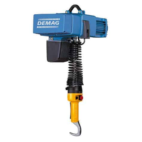 Demag | DCMS Pro 1-125 1/1 H4.3 VS30-30 380-46 Variable Speed DC Hoist PN 883249