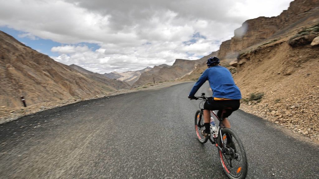 Mindful Cycling in the Himalayas