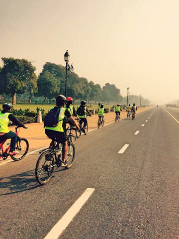 New Delhi Architecture Cycling Tour