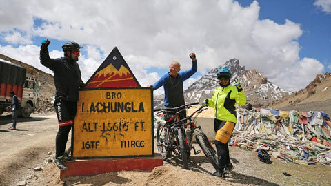 Manali to Leh Cycling Ride - Twin Sharing - Total Payment