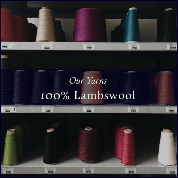 Our Yarns – 100% Lambswool by Z. Hinchcliffe & Sons