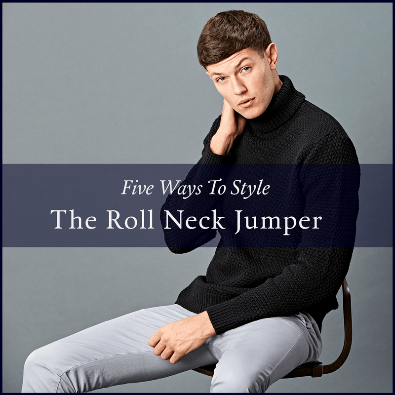 how to style roll neck jumper