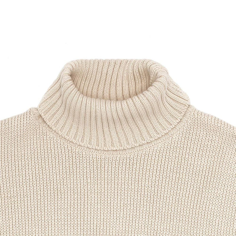The Men's Cotton Submariner Roll Neck Jumper