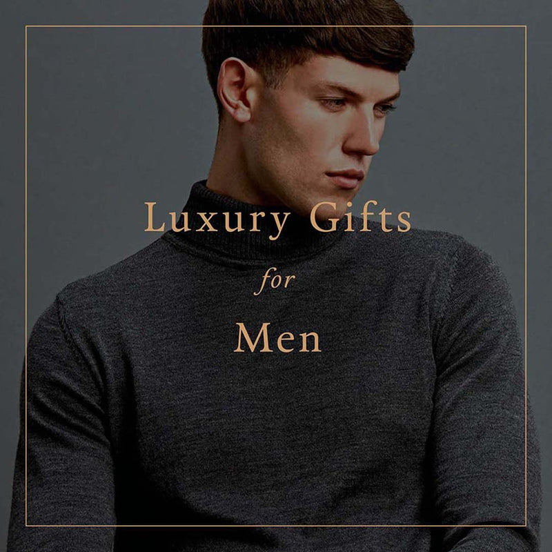 Luxury Natural Fibre Knitwear Gifts for Men