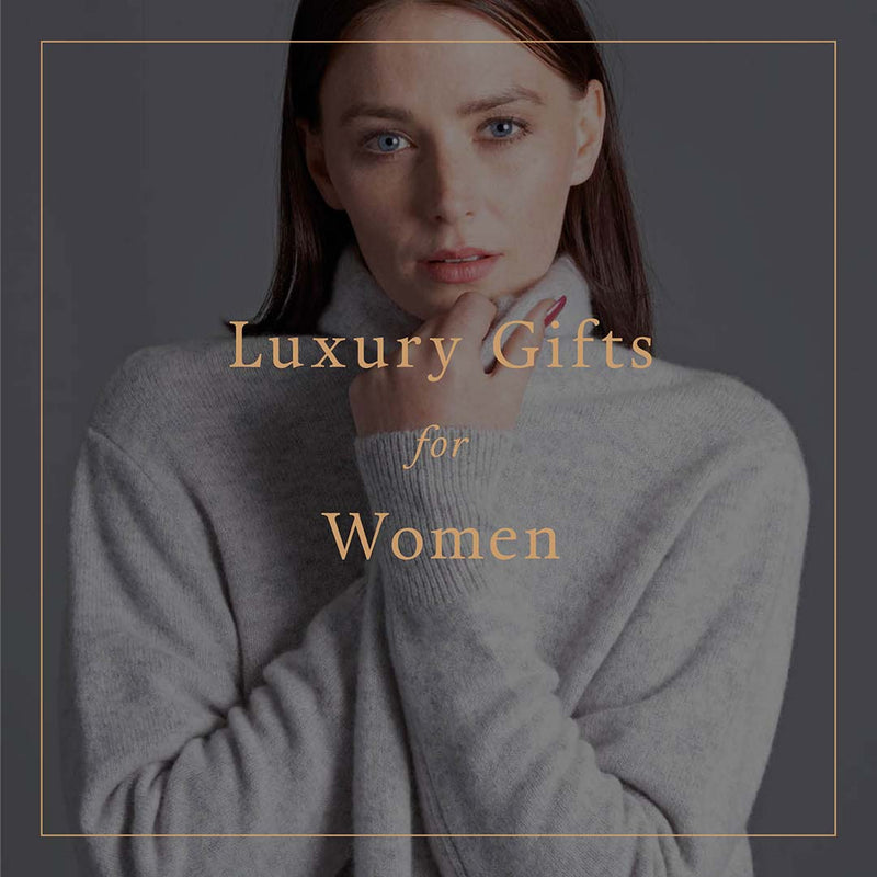 Luxury Natural Fibre and Sustainable Gifts for Women