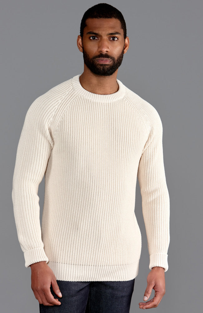 mens cotton and wool jumper