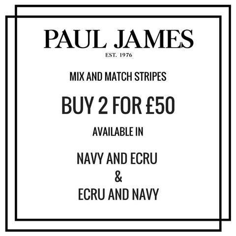 breton striple jumper Paul James Knitwear