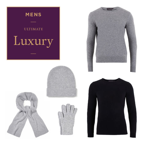 Men's Ultimate Luxury Natural Fibre Knitwear over £150