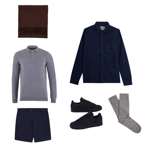 Styling Cashmere in Spring for Men